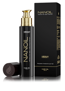 Haaröl Nanoil - eine professionelle Unterstützung für Haare